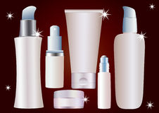 Cosmetic container. Stock Images