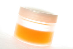 Cosmetic containers Royalty Free Stock Photos