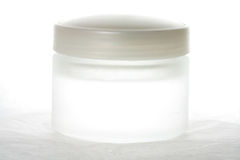 Cosmetic containers Royalty Free Stock Image