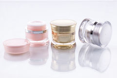 Cosmetic containers. Stock Photography