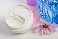 Cosmetic cream Stock Images