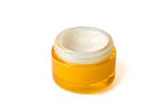 Cosmetic cream. Isolated on white Stock Photo