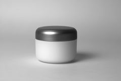 Cosmetic cream container Royalty Free Stock Photography