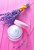 Cosmetic cream Stock Images