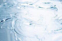 Free Cosmetic Cream Transparent Liquid Gel Stock Photo - 178641460