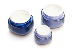 Cosmetic creams containers Stock Image