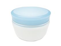 Cosmetic creme for face Royalty Free Stock Photos