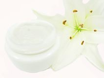 Cosmetic creme for face Royalty Free Stock Image