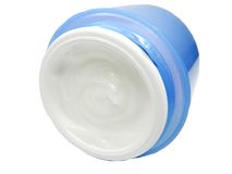 Cosmetic creme for face Stock Images