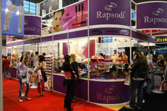 Cosmetic fair. 18th iinternational fair and congress of cosmetics, solarium, equipment, wellness, spa and hair care, the largest beauty fair in South-east Europe Stock Photography