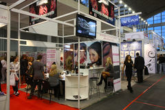 Cosmetic fair Royalty Free Stock Image