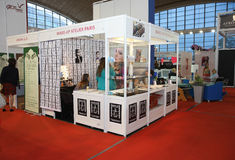 Cosmetic fair Royalty Free Stock Images