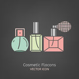 Cosmetic Flacon Icon Royalty Free Stock Photography