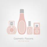 Cosmetic Flacon Icon Stock Photo