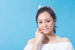 Cosmetic girl Stock Photography