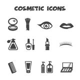 Cosmetic icons Stock Photos