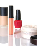 Cosmetic Items Royalty Free Stock Photo