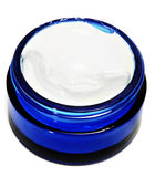 Cosmetic jar Stock Image