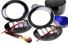 Cosmetic kits Stock Photos