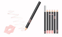 Cosmetic lip liner Stock Photography