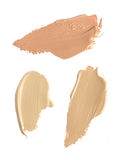 Cosmetic liquid foundation. Isolated on white background Royalty Free Stock Photography