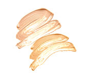 Cosmetic Liquid Foundation isolate on white Royalty Free Stock Photo