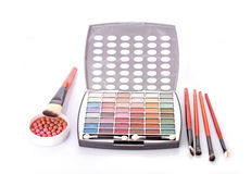 Cosmetic for make-up Stock Images