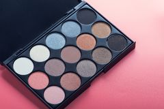 cosmetic make-up palette Stock Photography