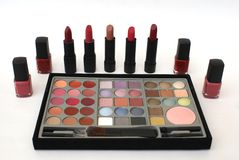 Cosmetic. Makeup. Beauty Products Royalty Free Stock Photo