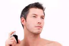 Cosmetic man Stock Photography
