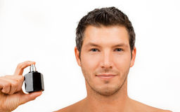Cosmetic man Royalty Free Stock Photo