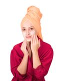 Cosmetic mask Stock Photography