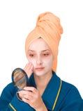 Cosmetic mask Stock Photos