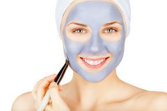 Cosmetic mask Stock Images
