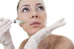 Cosmetic medicine Stock Images