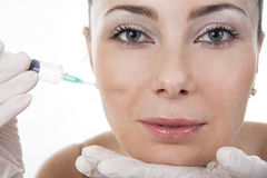 Cosmetic medicine Stock Image