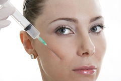 Cosmetic medicine Royalty Free Stock Image