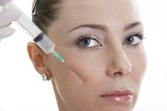 Cosmetic medicine Royalty Free Stock Image