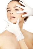 Cosmetic medicine. Royalty Free Stock Images