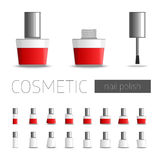 Cosmetic nail polish. Stock Image