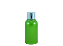 Cosmetic oil bottle Royalty Free Stock Image