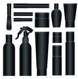 Cosmetic packages Stock Image
