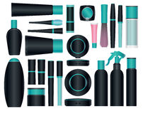 Cosmetic packages Stock Images
