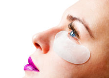 Free Cosmetic Patch On The Face Royalty Free Stock Photography - 90711877