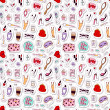 Cosmetic pattern vector. Stock Images