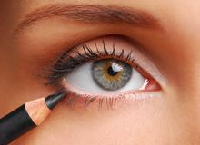 Cosmetic Pencil. Royalty Free Stock Images