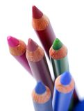 Cosmetic pencils Royalty Free Stock Image