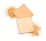 Cosmetic powder Royalty Free Stock Images