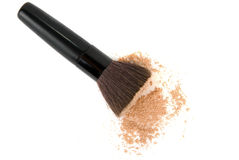 Cosmetic powder Stock Photography