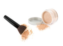 Cosmetic powder Stock Images